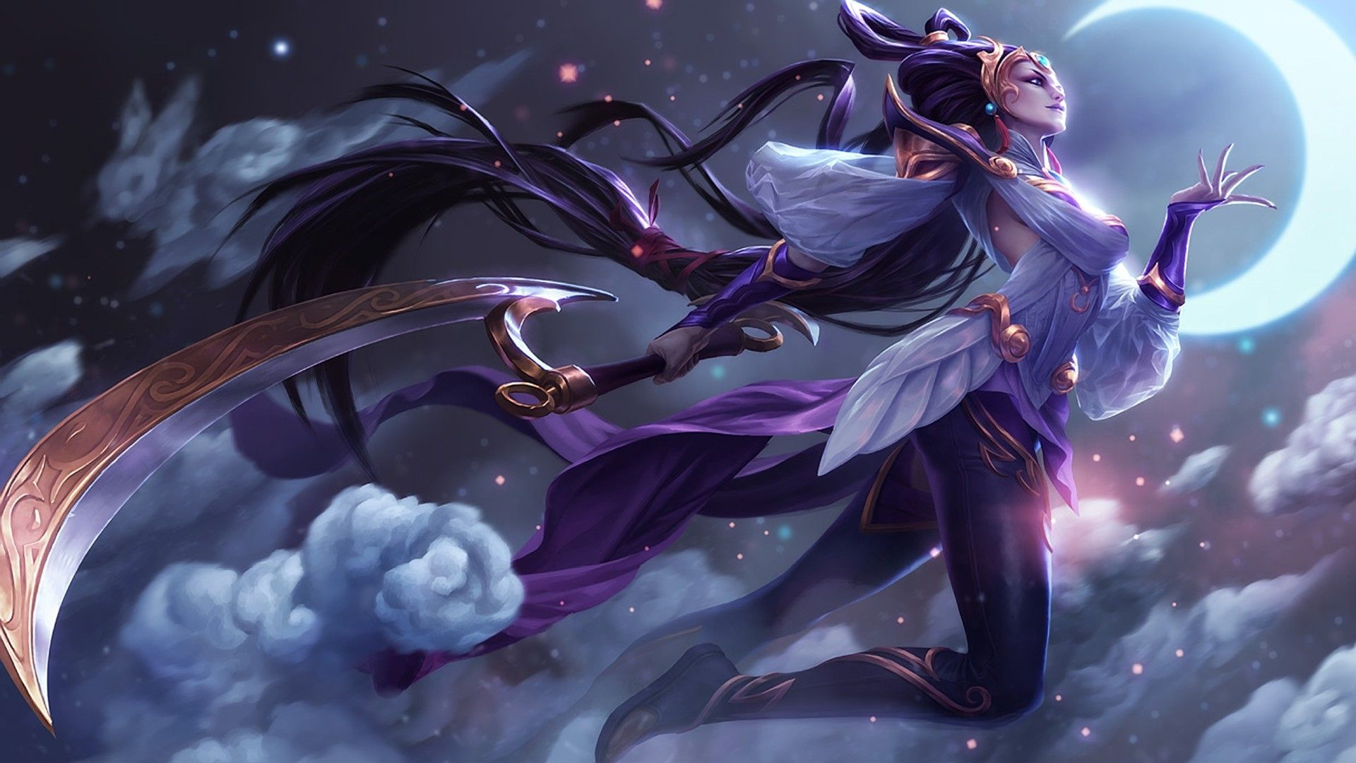 Lunar Goddess Diana Wallpaper Games Wallpapers Igames Wallpapers