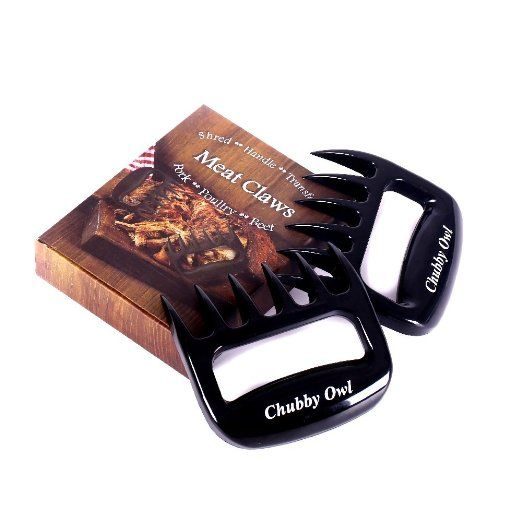 ordered  8/28 $1.59 from Bona Fide reviewers   Amazon.com: Chubby Owl Pulled Pork Shredder Claws-STRONGEST Cooking Meat Handlers for BBQ Grilling Smoking Baking-Heat Resistant Barbecue Paws-BPA Free: Patio, Lawn & Garden