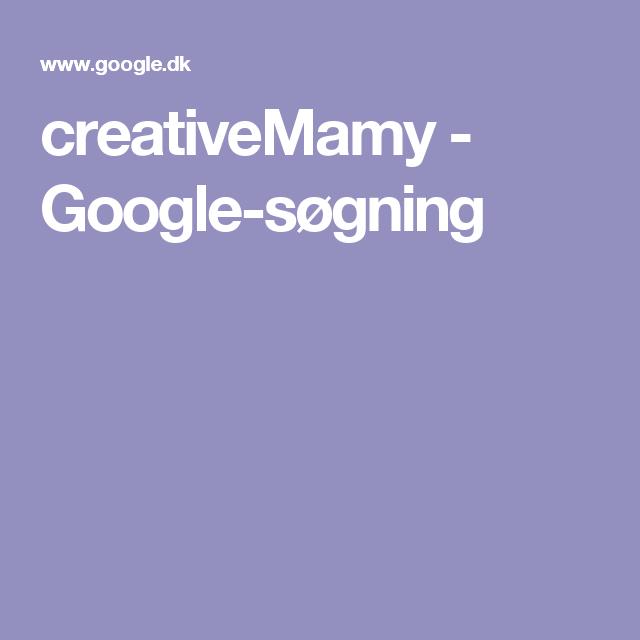 creativeMamy - Google-søgning