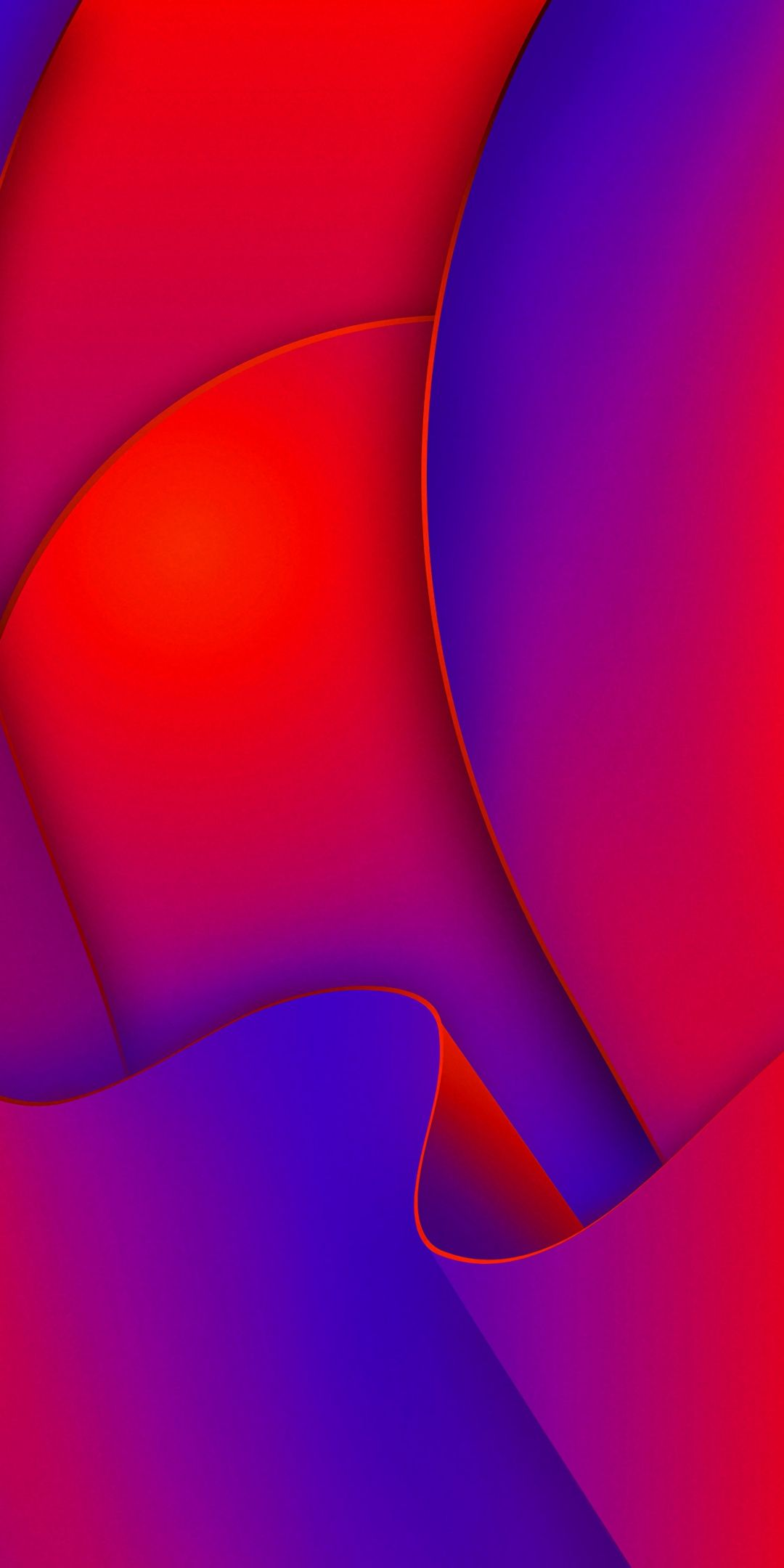 Red Shape Wavy Lines Pink Red Wallpaper Red Wallpaper Samsung Wallpaper Colourful Wallpaper Iphone