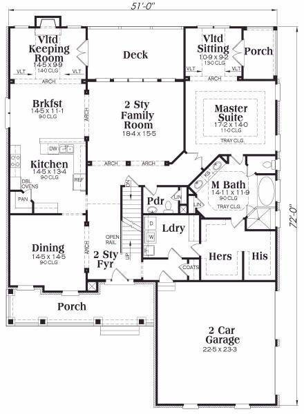 Master sitting room personal master porch master bath What is wic in floor plan