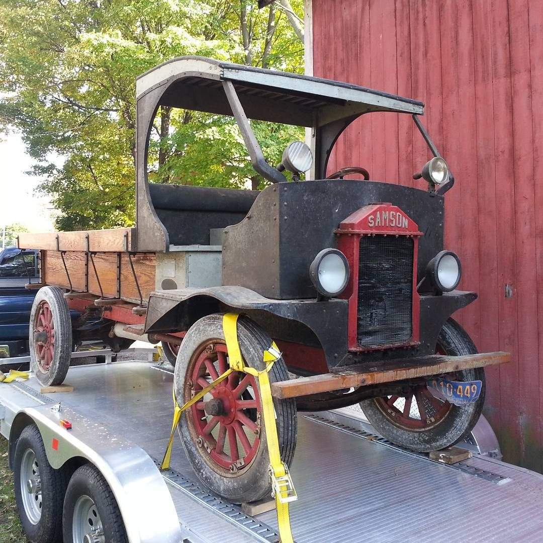 Helped my buddy Ernie retrieve a 1919 Samson truck from a barn in ...