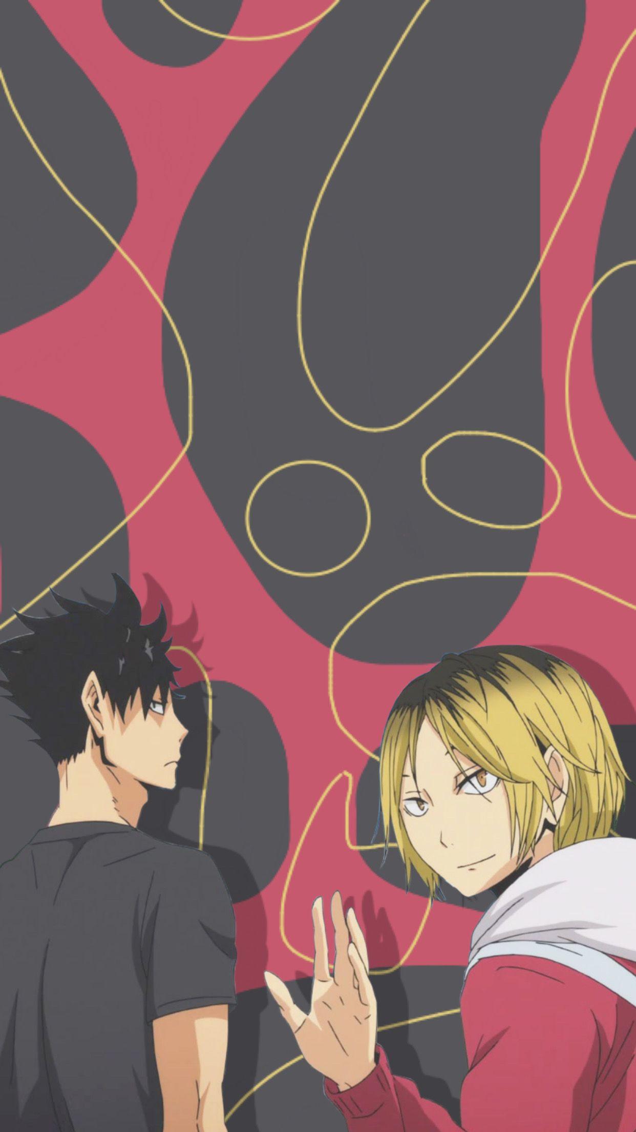 Haikyuu Kuroo Tetsurō And Kozume Kenma Wallpaper Aesthetic In 2020 Haikyuu Anime Kenma Anime