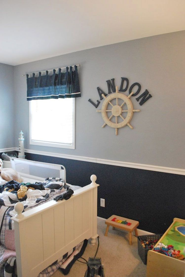 50 Pictures And Ideas For Chair Rail Molding Projects Boys