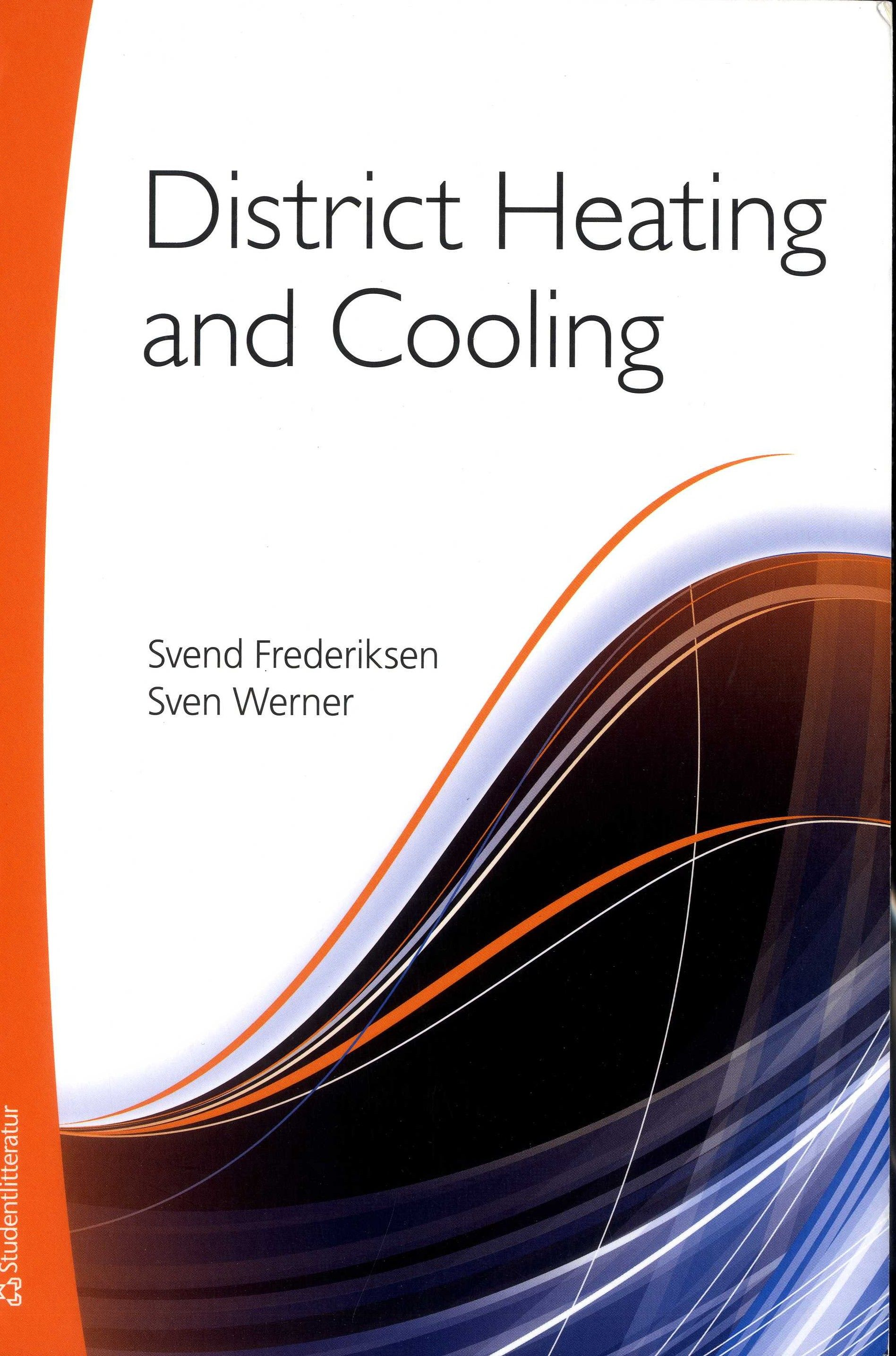 District Heating And Cooling Svend Frederiksen Sven Werner