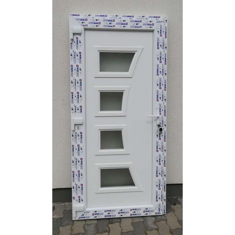 Space plastic Front door 98x208cm # white
