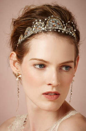 Art Nouveau Inspired Beaded Crown