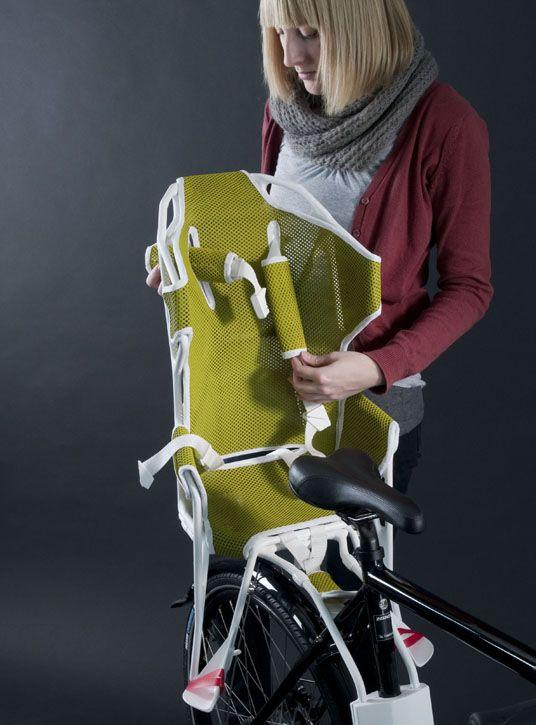 Fahrradkindersitz - Martina Staub