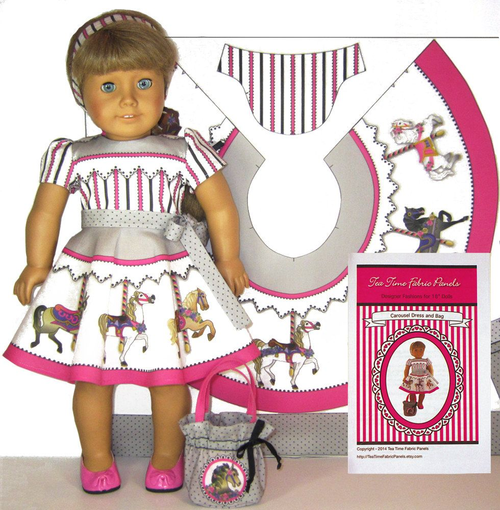Carousel Dress and Bag Kit, For 18\