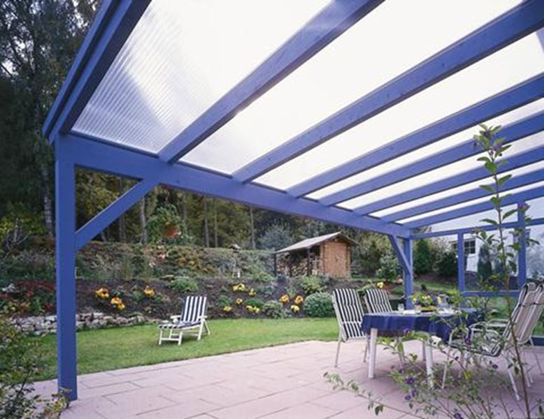 Polygal Twinwall Polycarbonate Outdoor Inspirations Outdoor Cover Pergola With Roof