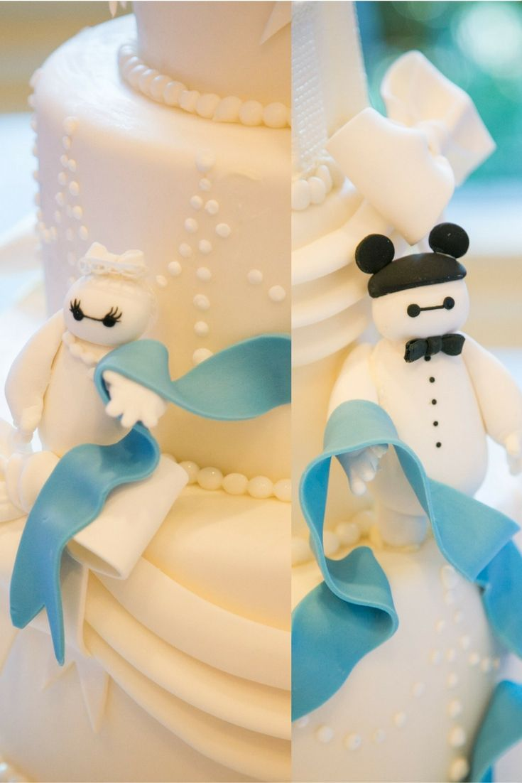 Bride and groom Baymax add some whimsical flair to this Disneyland ...