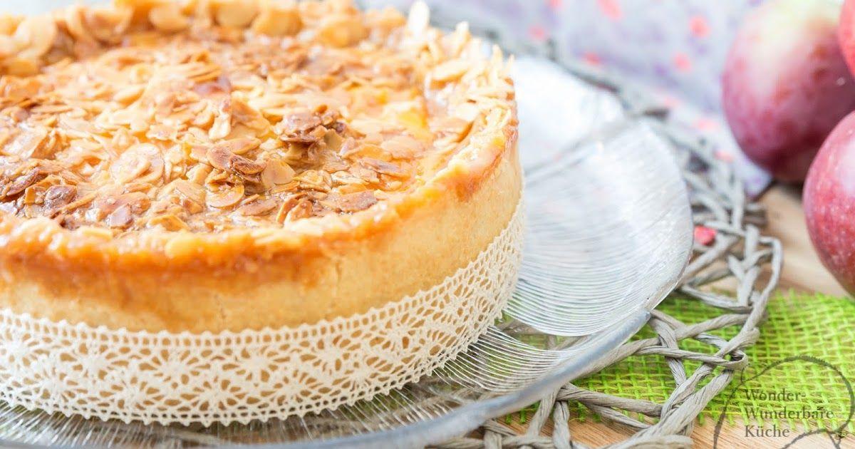 Kleine Kuchen Florentiner Apfelkuchen Puddingkuchen Torte Herbst Apfelzeit Appletime Rezept Backofen Bienenstich Mandeloberflache Klein Kleiner Kuchen