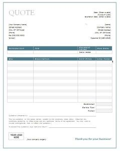 Download a simple Price Quote template for Excel. Easily create ...