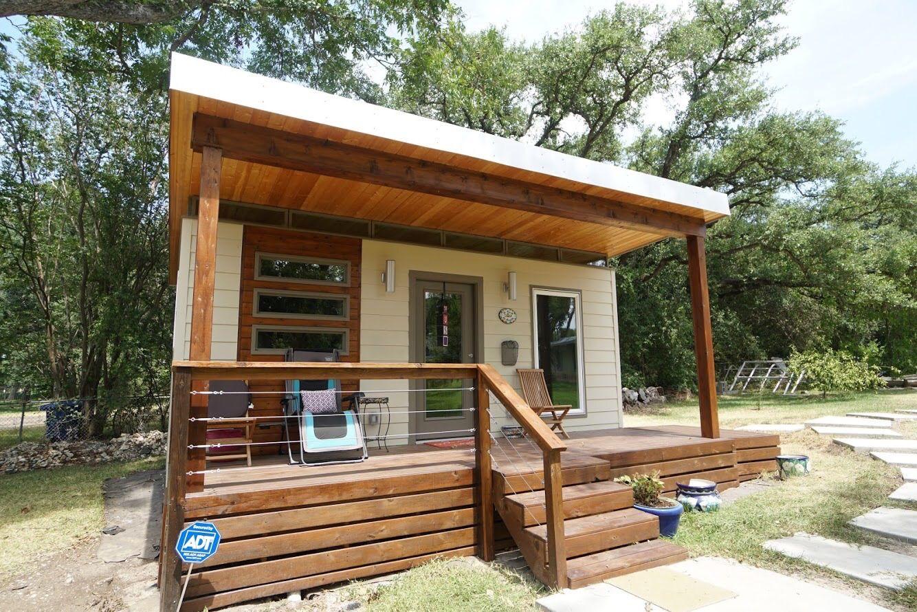 Modern Dwell 14x20 — Kanga Room Systems | Backyard guest ...