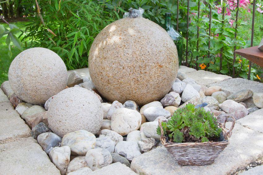 Steingartenideen - modernes, pflegeleichtes Design | Garten ...