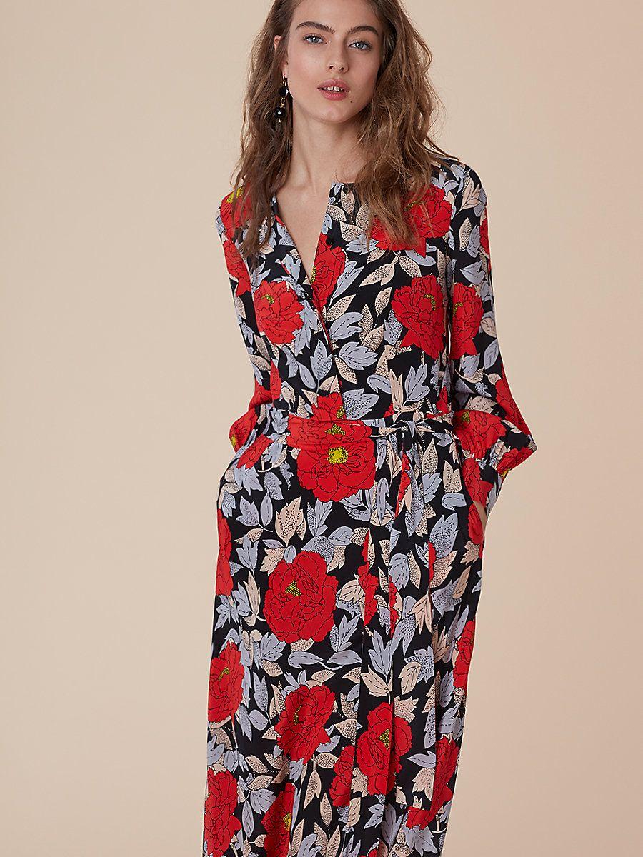 70b5e06e656 Waist Tie Maxi Dress in Boswell Black