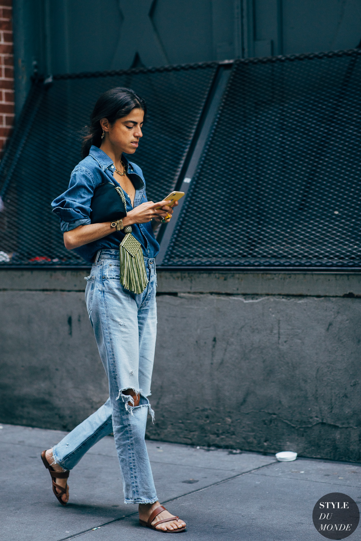 New York SS 2020 Street Style: Leandra Medine - STYLE DU MONDE | Street Style Street Fashion Photos Leandra Medine