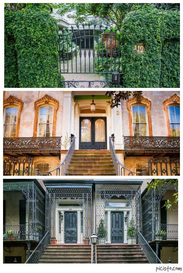 Doors Of Savannah S Historic District Savannah Chat Historic Savannah Downtown Savannah