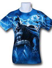 Batman Stormy Knight Sublimated T-Shirt