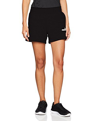 c9ac3bfbd1324 Puma Ess Sweat Shorts TR Pantalons Femme Cotton Black FR : XL (Taille  Fabricant :
