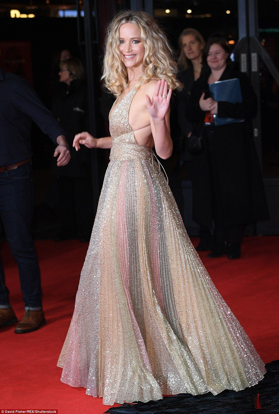 Premiere Roter Teppich Jennifer Lawrence Attends Red Sparrow Premiere In London Couture