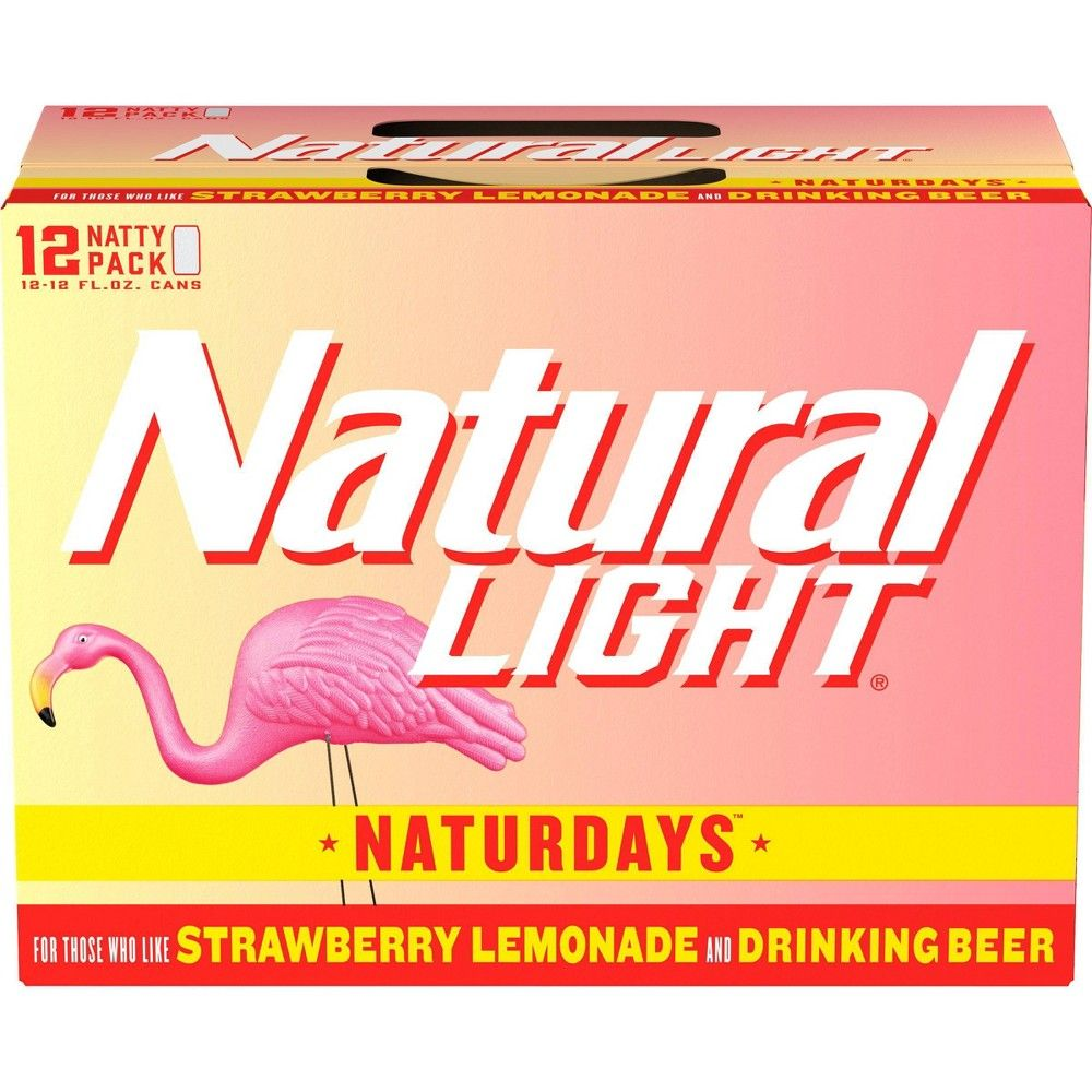 Natural Light Naturdays Lager Beer 12pk 12 Fl Oz Cans In 2020 Beer Light Lager Lager Beer