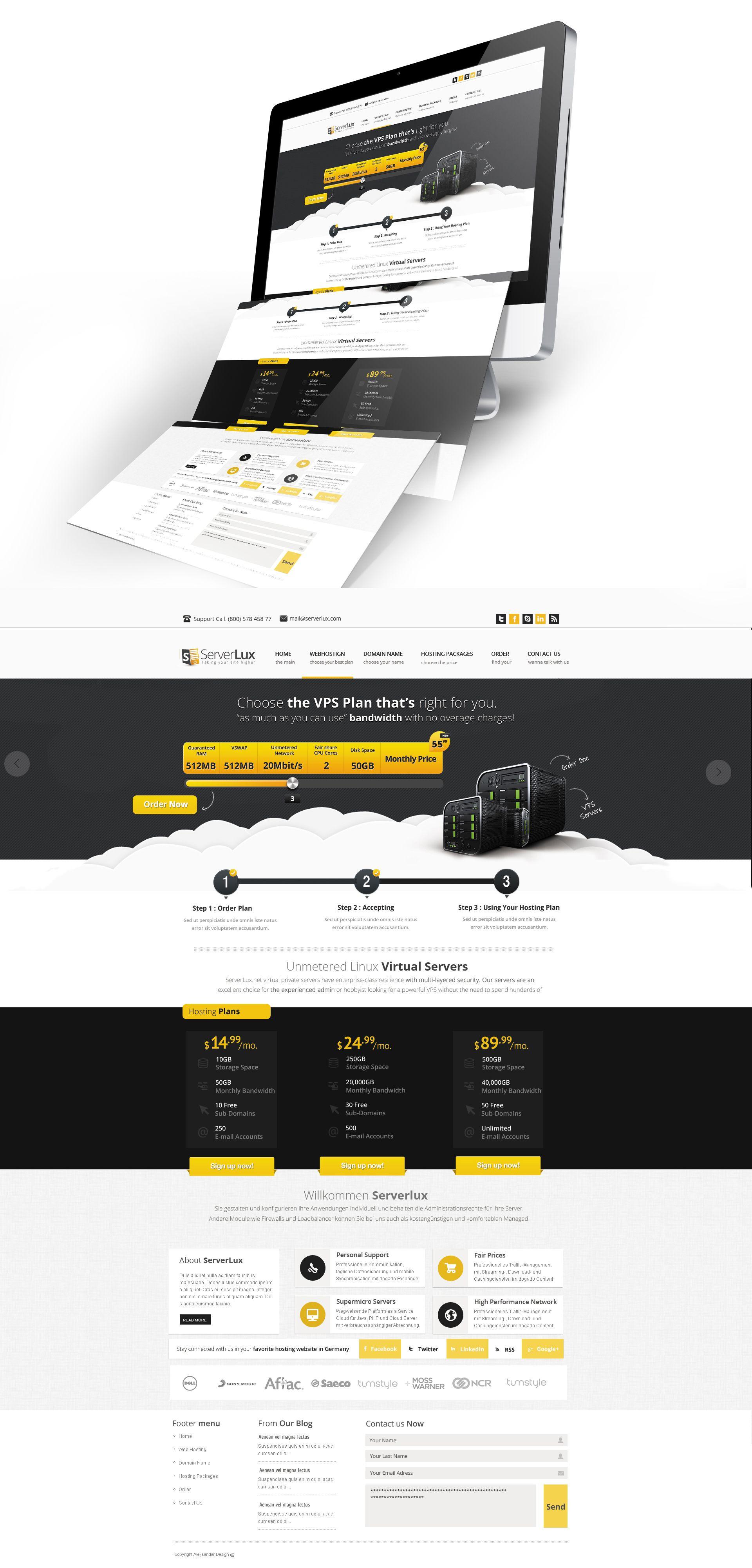 Proffesional Hosting Web Design By Vasiligfx On Deviantart Webdesign Online Web Design Web Design Web Design Services