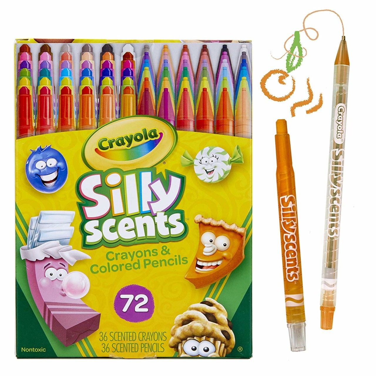 Crayola Silly Scents Twistables Scented Crayons Pencils 72 Count Only 11 84 Become A Coupon Queen Crayon Crayola Crayola Crayon Melter