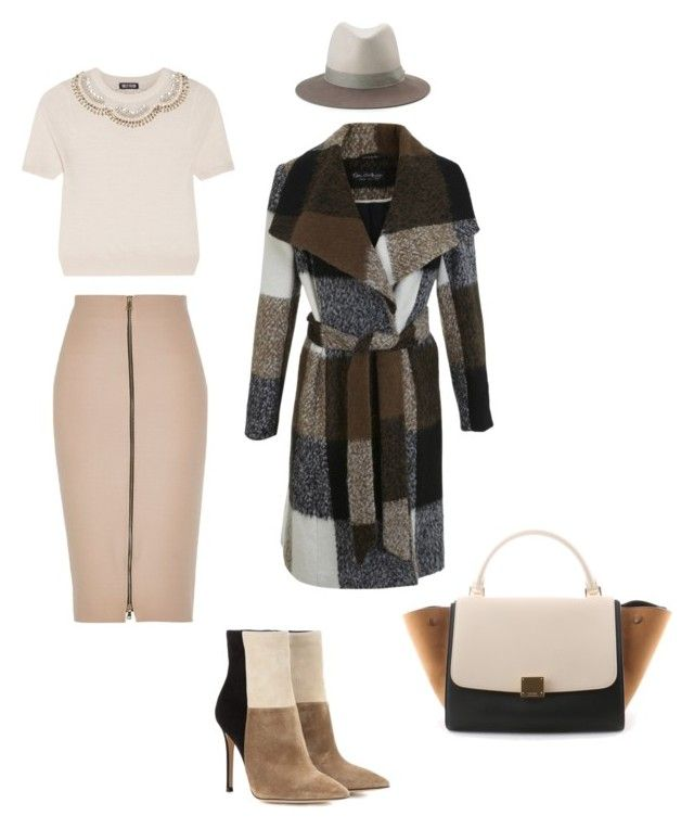 """""""Cosmina"""" by cosmina79 on Polyvore featuring Gianvito Rossi, Miss Selfridge, Holly Fulton, rag & bone, River Island and CÉLINE"""