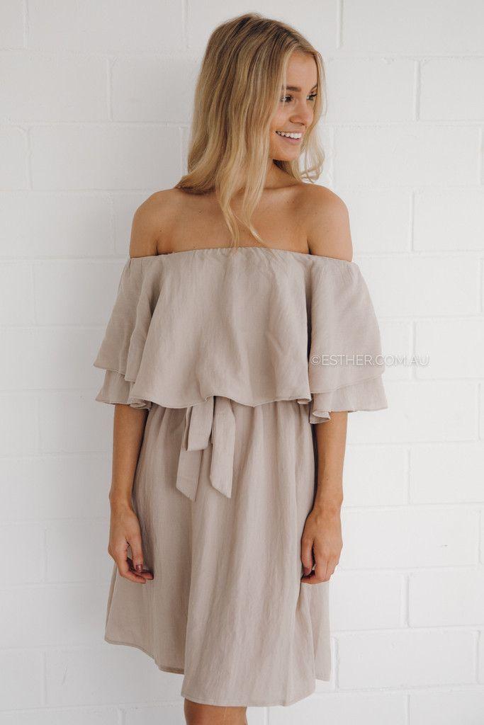 wittner dress - beige
