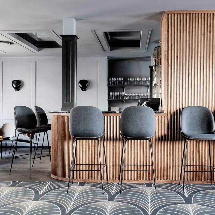 Beetle Bar Stool By Gubi In 2019 Designer Bar Stools