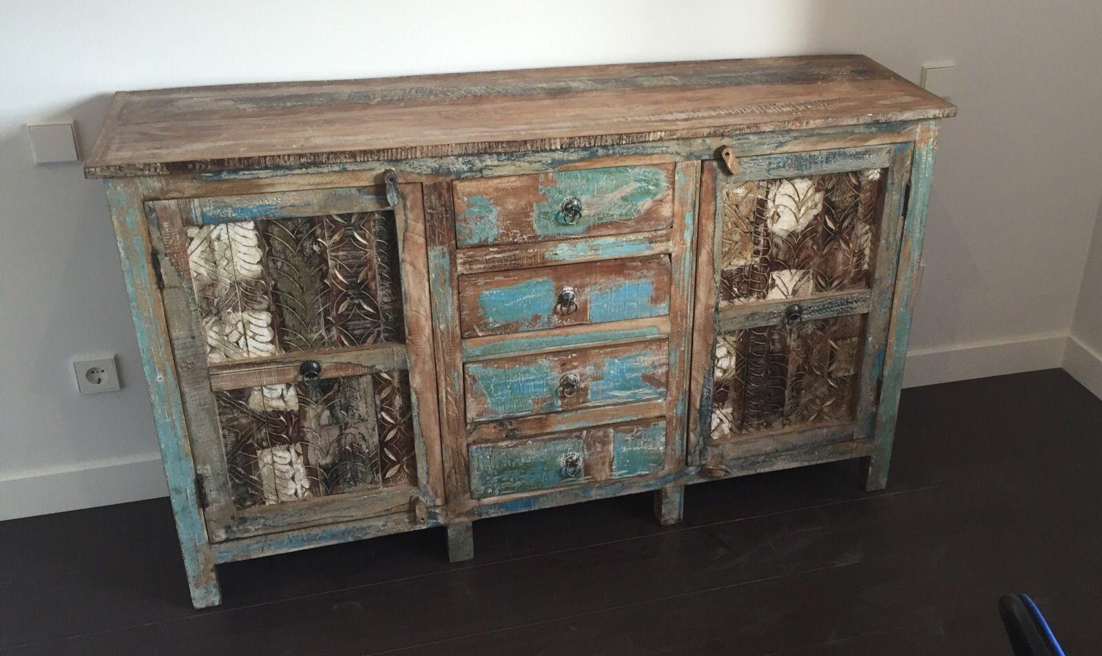 Mueble artesanal de la india este es el original y - Muebles del comedor ...