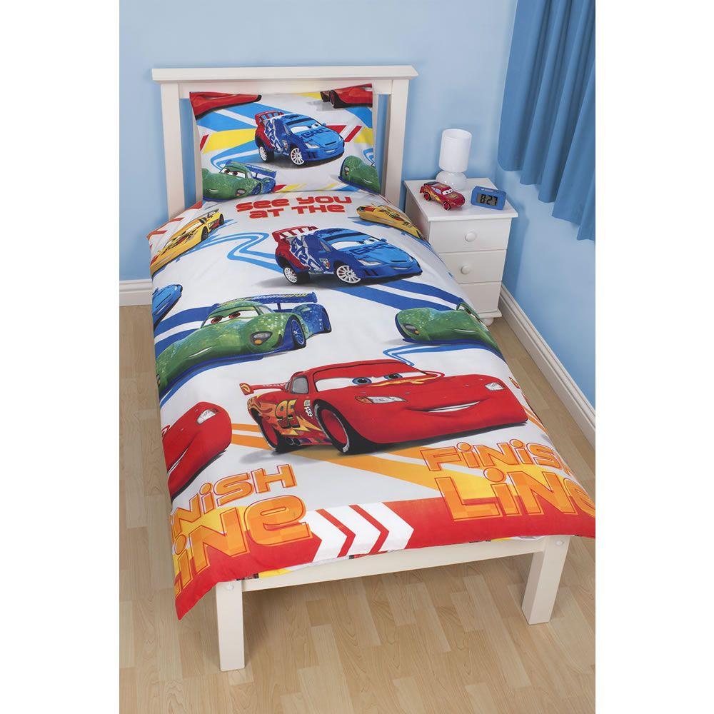 Disney Cars Duvet Set Single Car themed bedrooms, Single