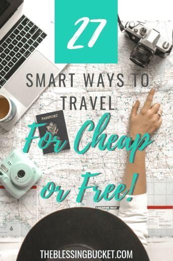 #traveltips  #budgettravel  #travelblog  #traveltipsforeveryone  Let's talk about money. Money is one of the biggest reasons that hold people back from going on the vacation of their dreams. I get DMs on my Instagram all the time… #ways #Travel 27 Smart ways to Travel for Cheap or Free