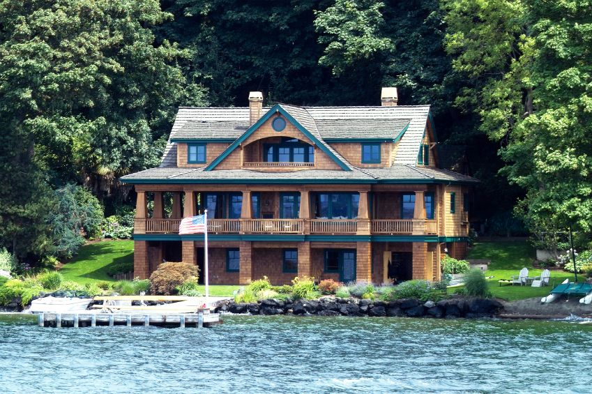 Lake Cypress Springs Mortgages East Texas Lake Lender House Designs Exterior Lakefront Property Dream House Exterior