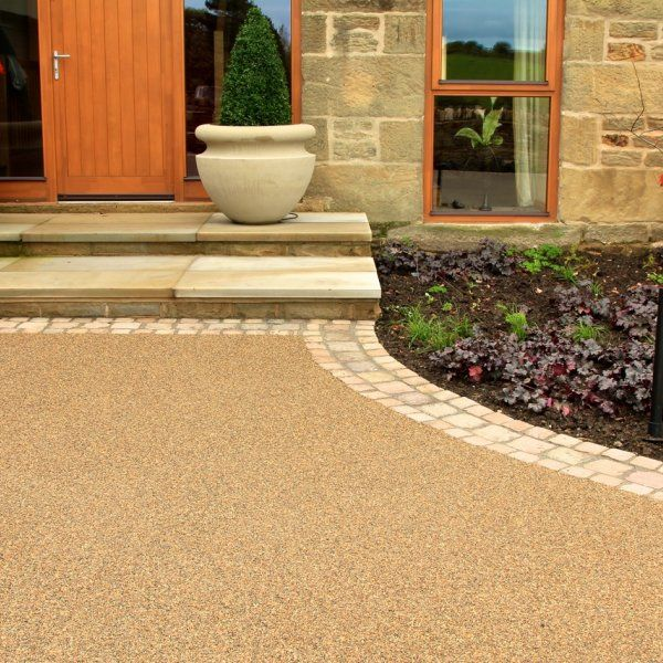 Resin Bonded Driveways Patios And Pathways Gallery Front Garden