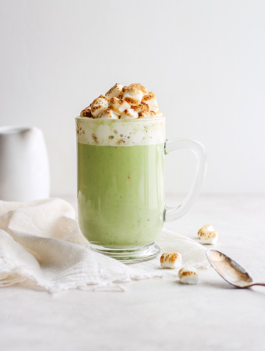 DairyFree Matcha White Hot Chocolate The Wooden Skillet
