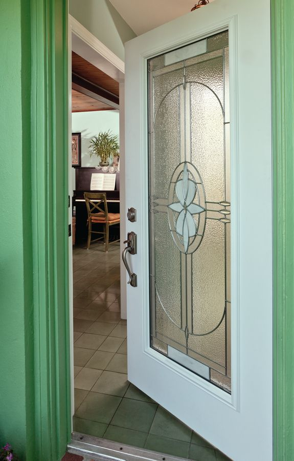 Compass Decorative Door Glass So Cool We Re Inventing The New Term Beach Mod Beachmod Glass Door Contemporary Style Homes Door Glass Inserts