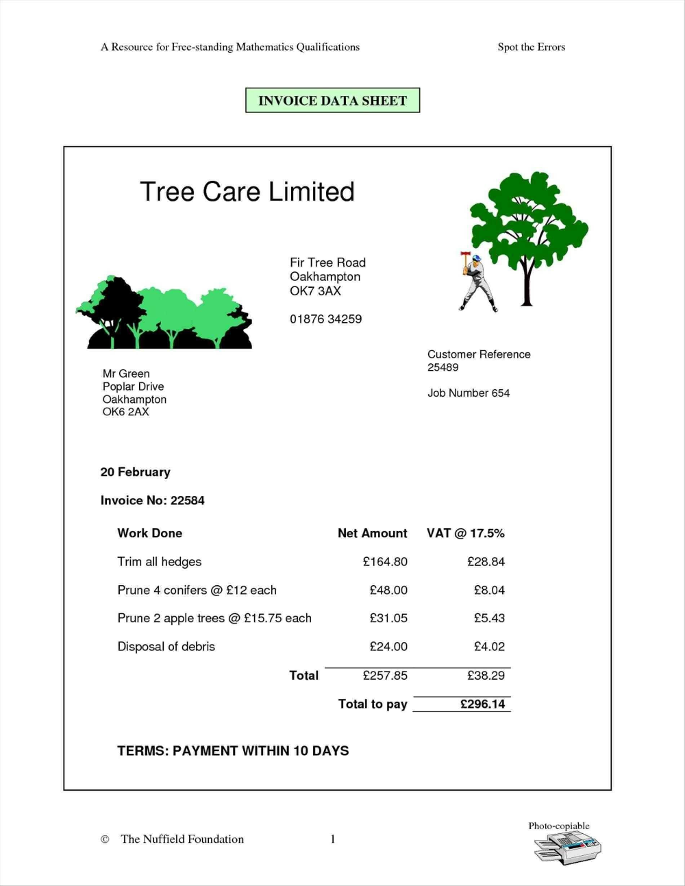 Lawn Renovation New Standard Invoice Form Elegant Lawn Care Invoice For Lawn Maintenance Invoice Invoice Template Invoice Design Template Invoice Template Word