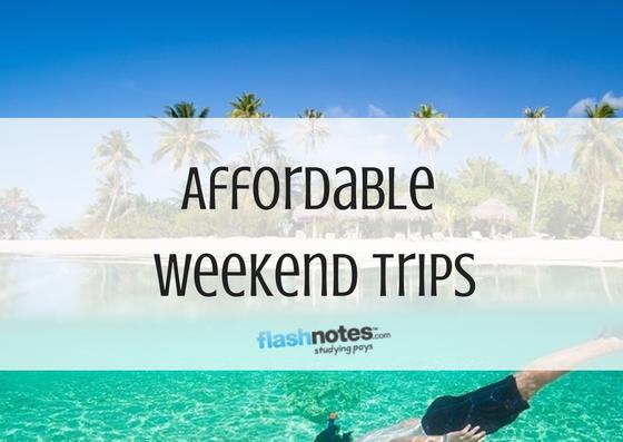 weekend trip affordable weekend trips planner