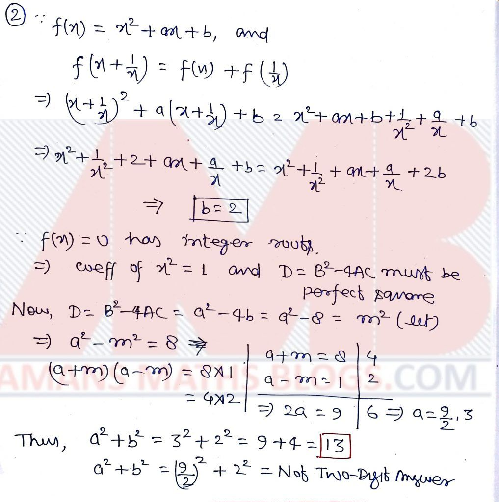 Pre RMO 2019 Question Paper With Answer KeysSolution