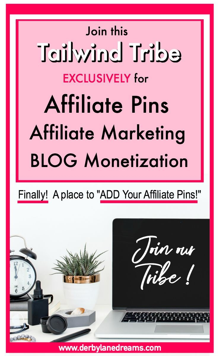 Need a Place to add All of your Affiliate Pins so you