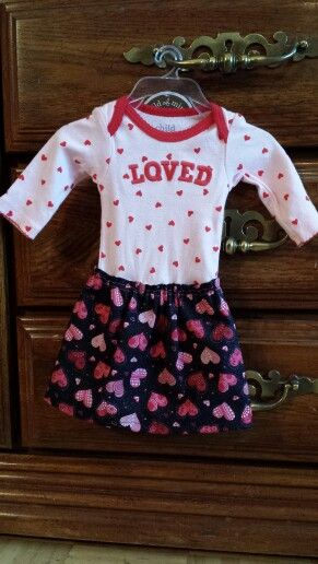 Baby girl Onsie dress!