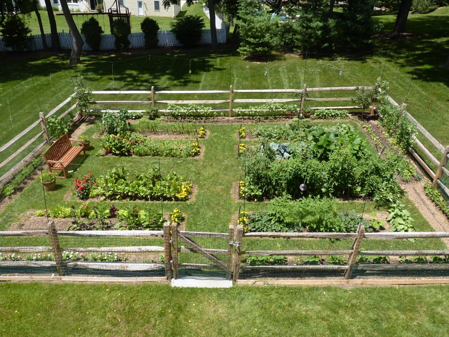 Vegetable garden fence vegetable garden fence ideas for Fun vegetable garden ideas
