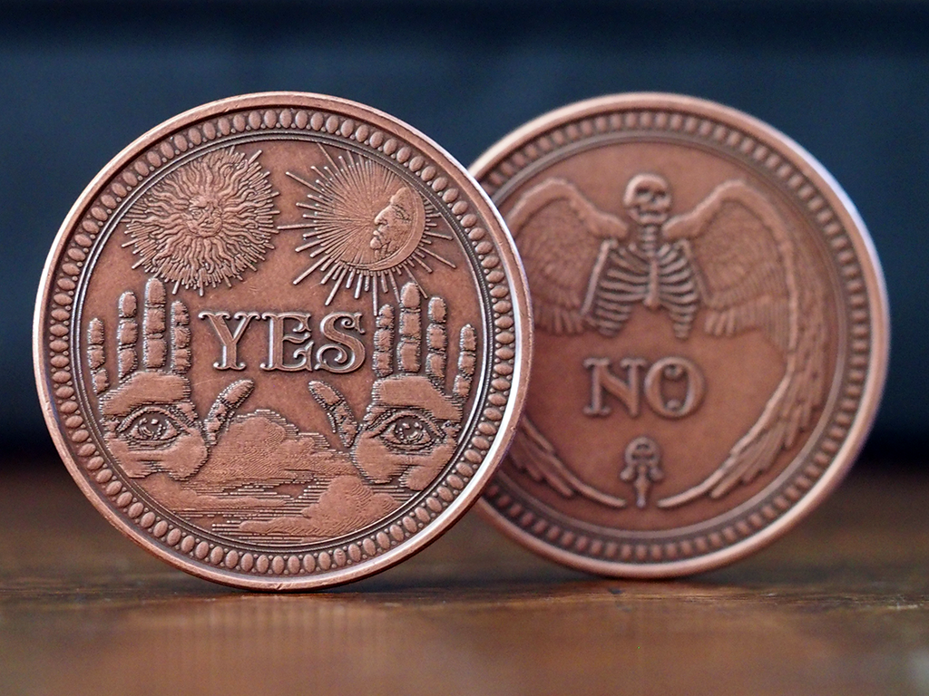 Oracle Solid Copper Coin | EDC | Coins, Challenge coins