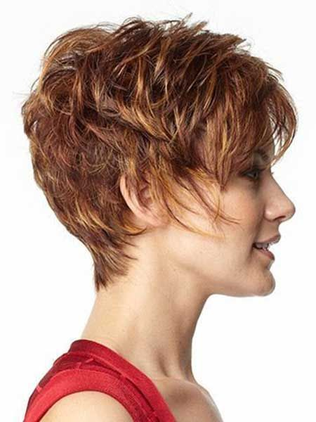 Very Short Shag Hairstyles 2014 Coiffure, Cheveux courts