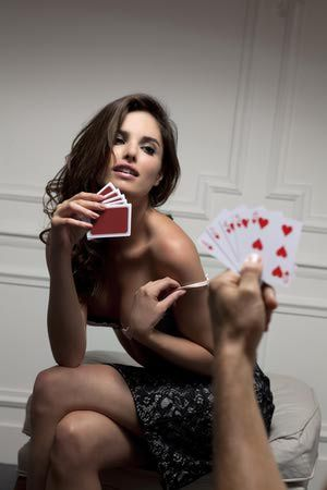 Image result for two drunk women playing strip poker