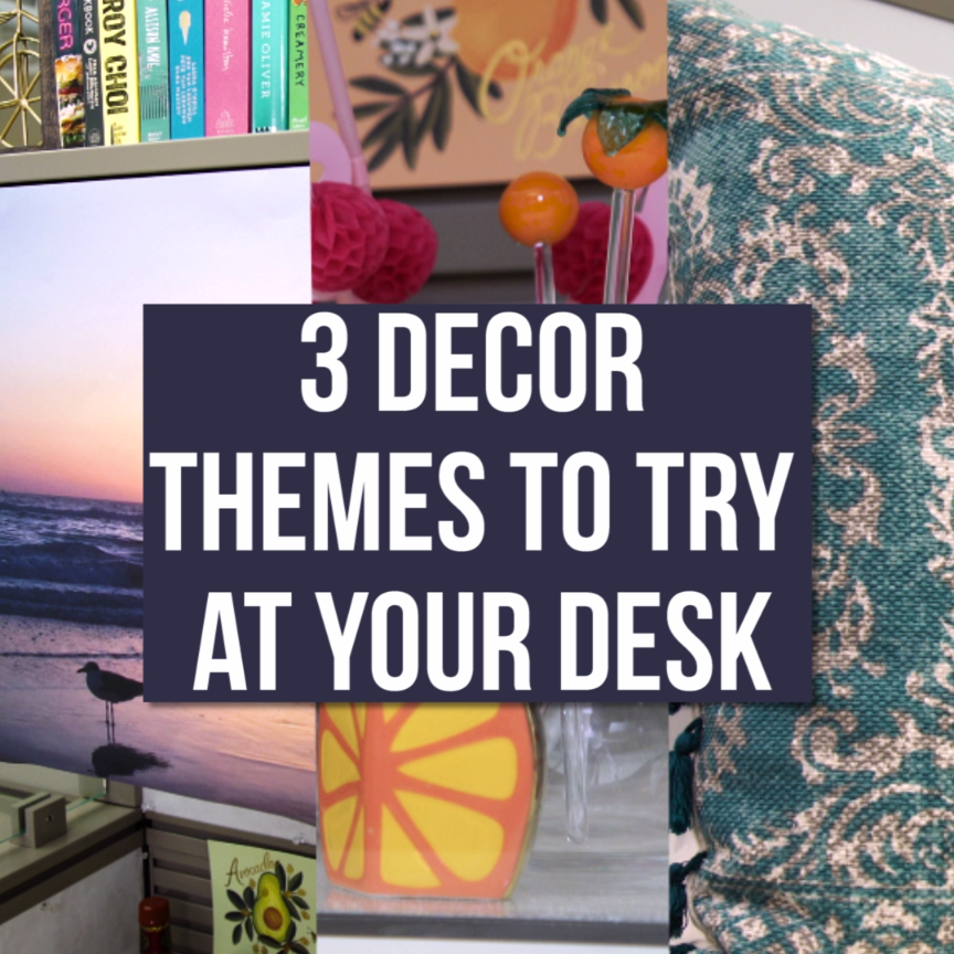 3 fun decor themes to try at your desk or workspace hgtv videos business office decor. Black Bedroom Furniture Sets. Home Design Ideas