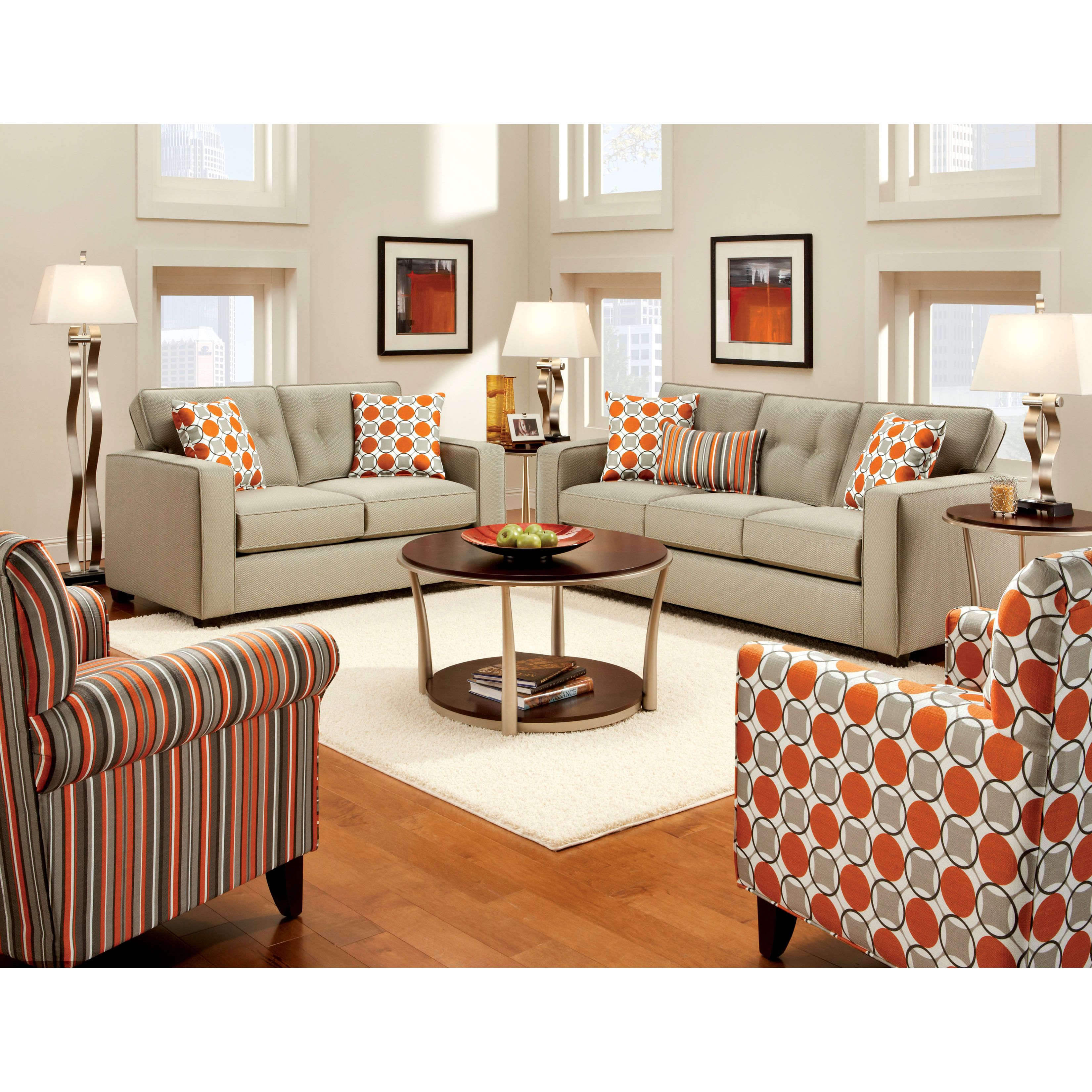 Vogue Fabric Lounge Suite by Furniture Haven Harvey Norman Prob