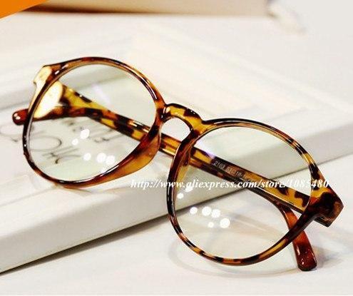 Photo of Vintage Classic Round Eyewear Frames Eyeglasses Degree Optical Myopia Glasses Spectacle Frame Eye Glasses Frames For Women Men